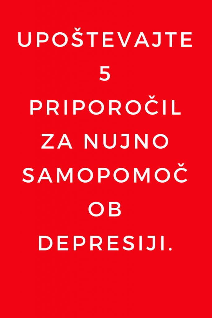 Samopomoč od depresiji