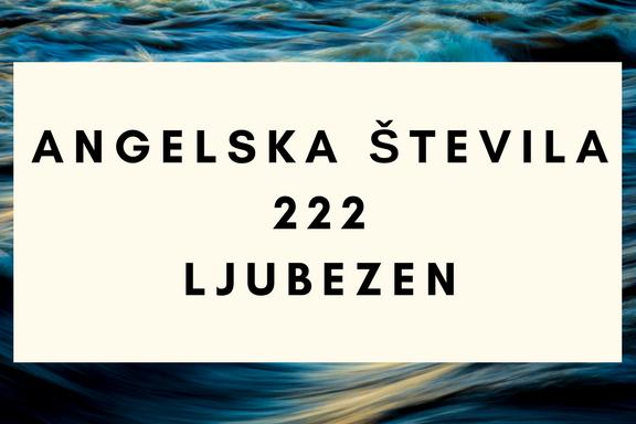 angelska števila 222