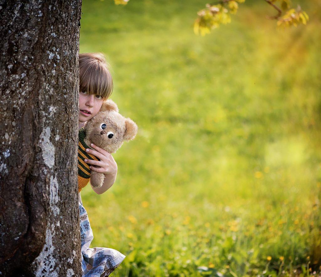 otroški strah pred ljudmi