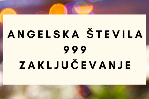 angelska števila 999