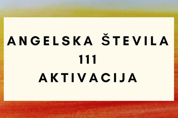 angelska števila 111