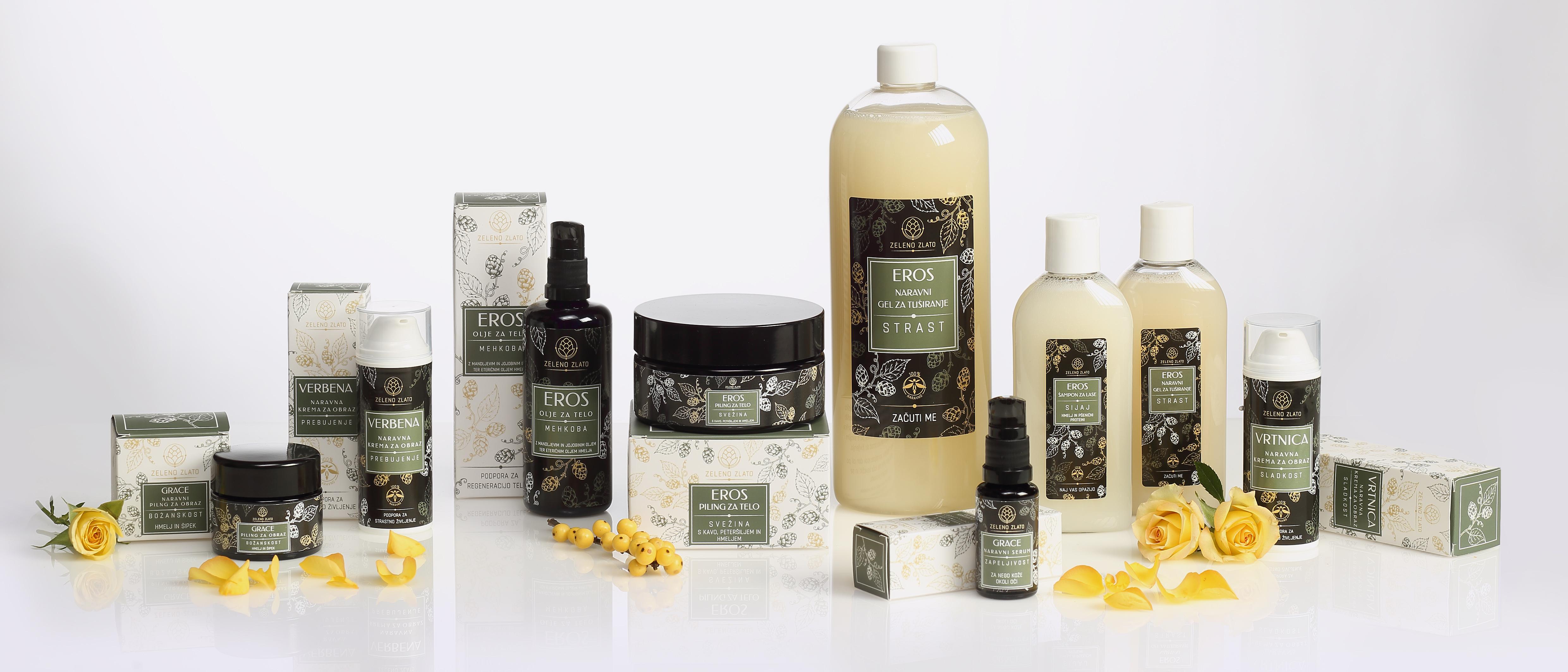 Naravna kozmetika Zeleno zlato
